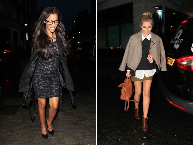 Rochelle Humes and Mollie King