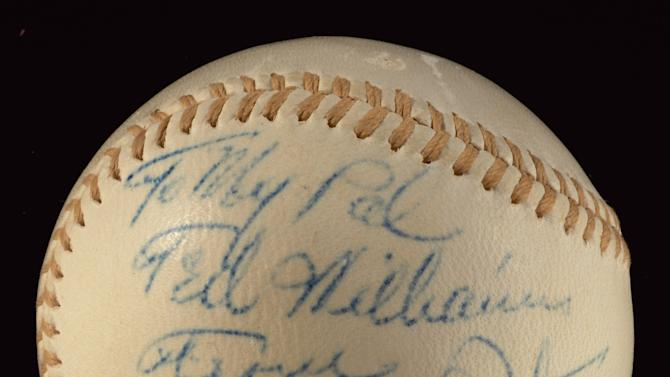 Ted Williams Auction