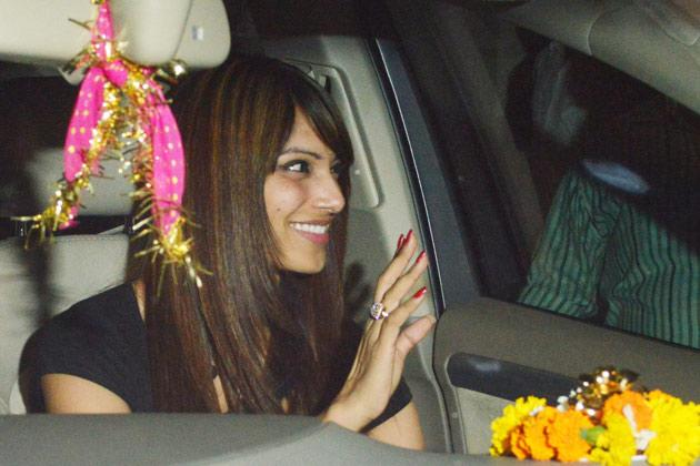 Spotted at Salman's birthday celebrations