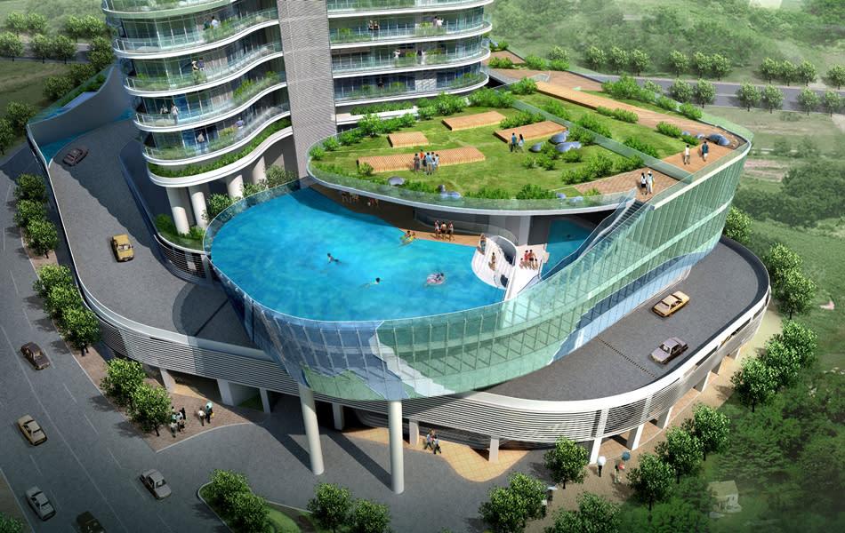 """Фототелеграф """" проект aquaria grande: квартира с бассейном н."""