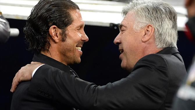 Liga - Advantage Atletico, says Ancelotti after Super Copa draw