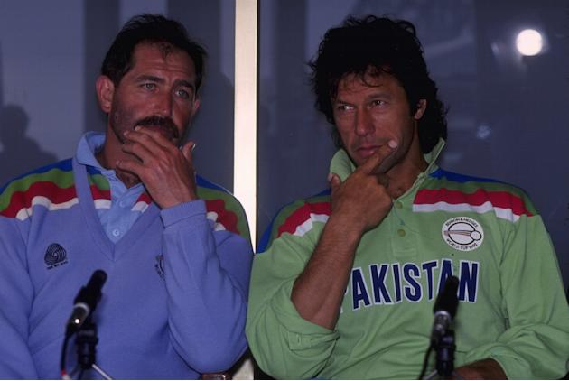 WORLD CUP GOOCH & IMRAN