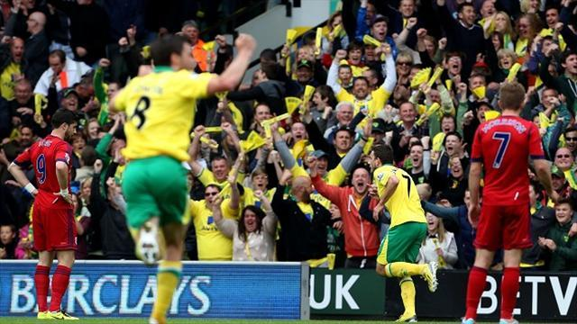 Football - Norwich safe with West Brom thumping