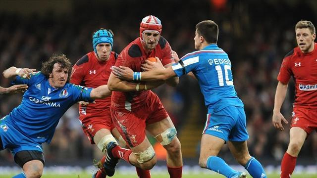 Six Nations - Wales dealt Charteris blow