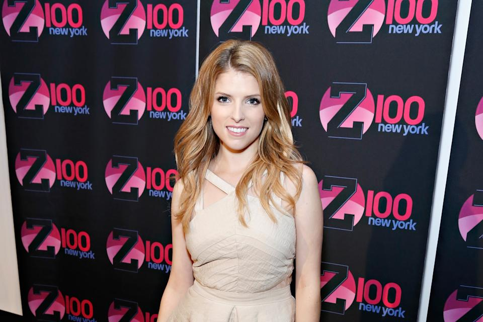 "Z100 Hosts A Special Event Featuring Anna Kendrick In Honor Of Her Hit Song, ""Cups,"" From The Film, Pitch Perfect At The iHeartRadio Theater Presented..."