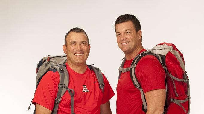 "Border Patrol Agents Art Velez and JJ Carrell compete in the 20th season of ""The Amazing Race."""
