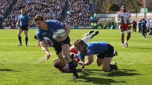 RaboDirect Pro12 - Leinster beat Cardiff