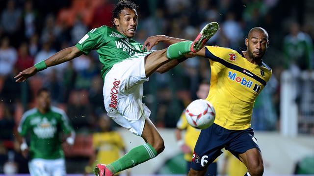 Ligue 1 - St Etienne striker Aubameyang out of Ajaccio trip