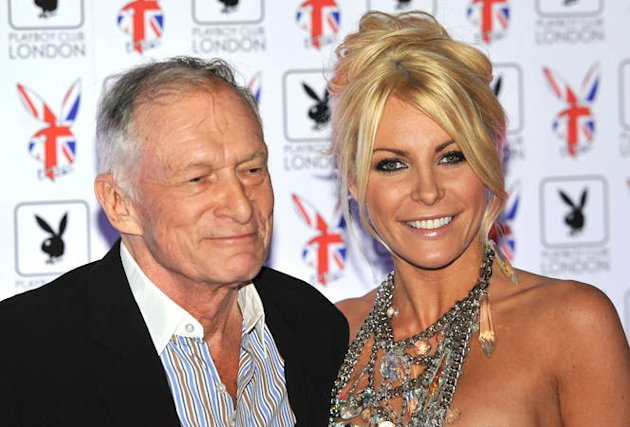 Hugh Hefner's wife auctioning off wedding dress