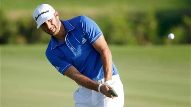 Golf - Dustin shares lead as Zach slips up at Kapalua