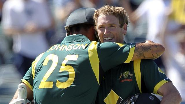 Cricket - Australia beat West Indies in second ODI