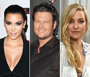 Kim Kardashian, Blake Shelton and Kate Hudson: How Celebrities Are Celebrating the Holidays