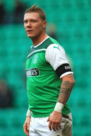 Garry O'Connor played for Hibernian in last season's Scottish Cup final defeat to Hearts