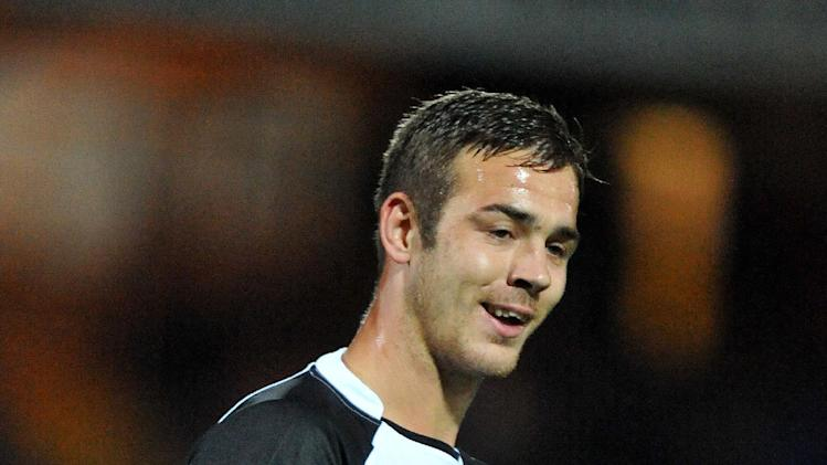 Tom Pope grabbed both goals for Port Vale