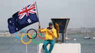 Funding to be cut: Malcolm Page was one of Australia's gold medal-winning sailors at the 2012 Olympics