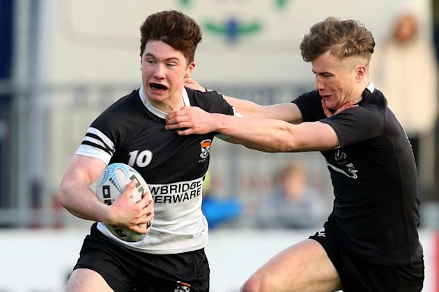 A Kerry All-Ireland minor winner played in today's Leinster Schools rugby semi-final