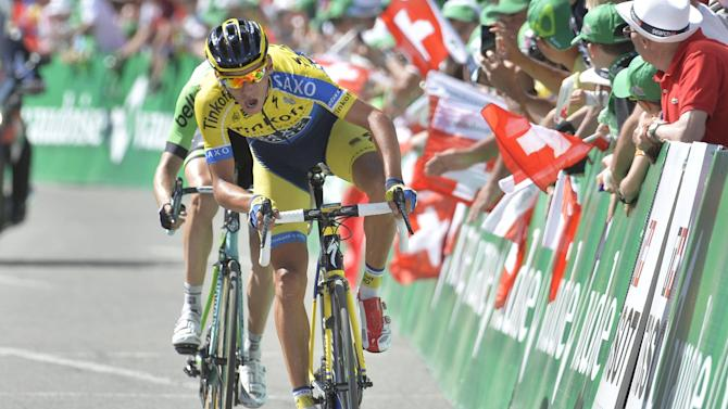 Cycling - UCI provisionally suspend Kreuziger, team says