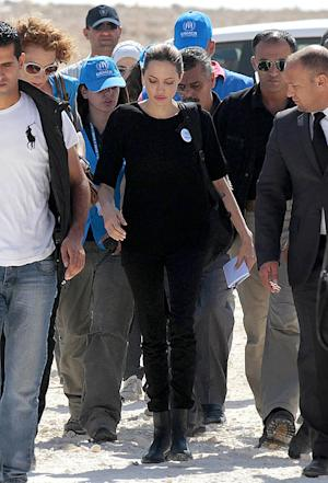 """Angelina Jolie Visits Syrian Refugees in Lebanon: """"They Are So Generous and Kind"""""""