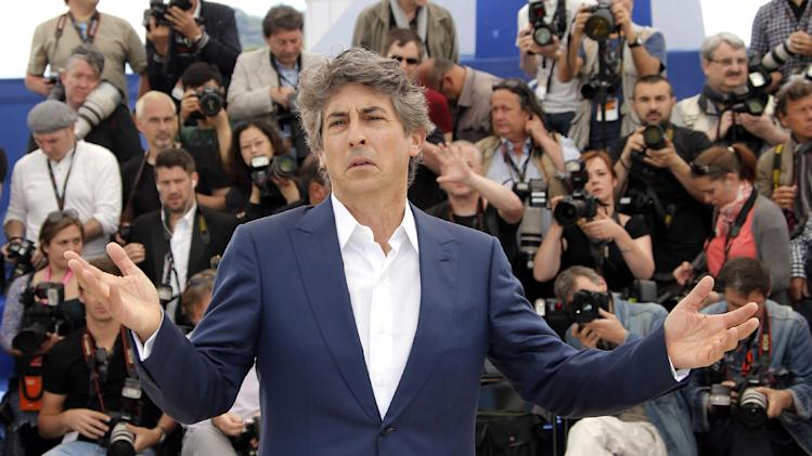 Director Alexander Payne poses for photographers during a photo call for the film Nebraska at the 66th international film festival, in Cannes, southern France, Thursday, May 23, 2013. (AP Photo/Francois Mori)