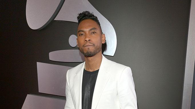 The 55th Annual GRAMMY Awards - Red Carpet: Miguel Jontel Pimentel