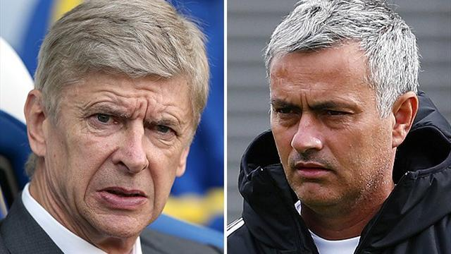 Premier League - Wenger responds to Mourinho as row continues
