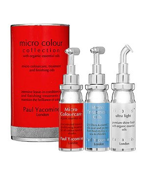 Paul Yacomine's Micro Colour Collection Intensive Leave-In Conditioning and Finishing Treatment kit