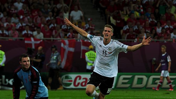 Lars Bender hit the winner to give Germany victory