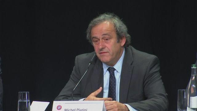 Platini asked Blatter to resign as FIFA President