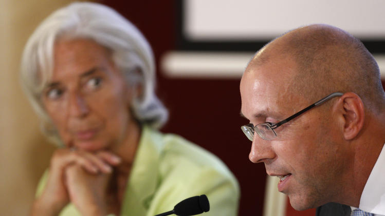 Lithuania IMF Lagarde