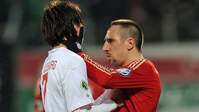 Bundesliga - Ribery banned for 'slap'