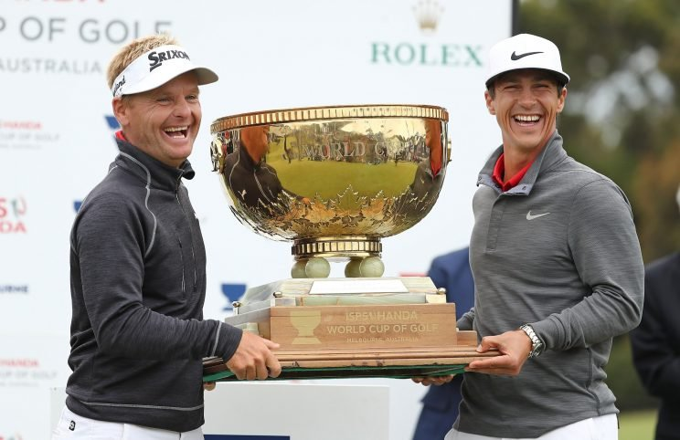 The Danes took the World Cup of Golf on the back of a second-round 60. (Getty Images)