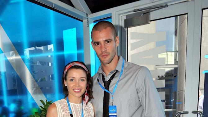 "***File Photo*** MINOGUE CONFIRMS LOVE SPLIT Singer-turned-reality TV star DANNII MINOGUE has confirmed reports her romance with rugby player boyfriend KRIS SMITH is over.   The star was forced to deny rumours suggesting she had parted from the sportsman last year (11), but the gossip emerged again on Tuesday (03Apr12) - and the couple, who share toddler son Ethan, has now revealed the sad news is true.   In a series of posts on Twitter.com, Minogue writes, ""It brings me great sadness to tell you that Kris & I have separated. We still care for each other & ask for privacy at this difficult time, in particular for our son Ethan who remains our number one priority.   ""Needing to retreat for a while. Thank you for your ever loving continued support.""   Smith adds, ""Dannii and I have a deep mutual love and respect for each other and although things have not worked out we have a gorgeous son together that we both love and implore everyone to respect our privacy at this challenging time.""   The couple began dating in the summer of 2008 after meeting at Smith's 30th birthday party in Ibiza. Their son was born in July, 2010. (CL/WNTWT/KL) UK - 04.04.12  Dannii Minogue and Kris Smith at the Australian Open Tennis Day 14 Men's Final Melnourne, Australia - 01.02.09 ***Available for publication in the UK, USA, Germany, Austria & Switzerland***Not available for the Rest of the World*** Mandatory Credit: WENN.com"
