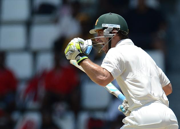 Matthew Wade: Playing his first Test tour for Australia, the wicket-keeper batsman gave a good account of himself as he not only scored a match-winning maiden century at Dominica; but was also safe be