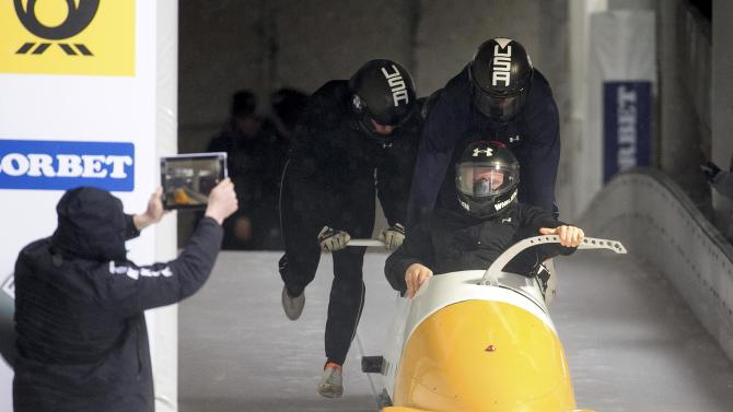 Bobsleigh - BMW IBSF Bob & Skeleton World Championships - 4-men training - Koenigssee