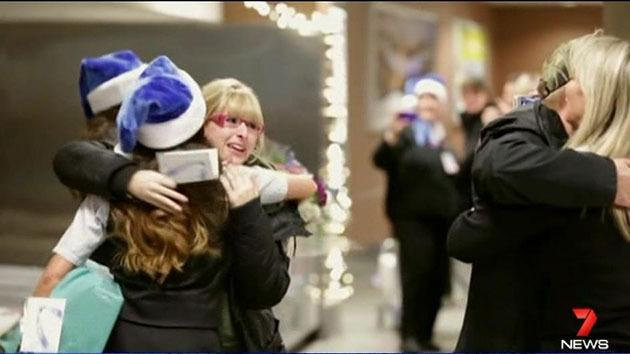 Canadian airline Westjet placed an interactive father Christmas in the departure lounge who knew all 250 passengers by their first names and delivered gifts on board.