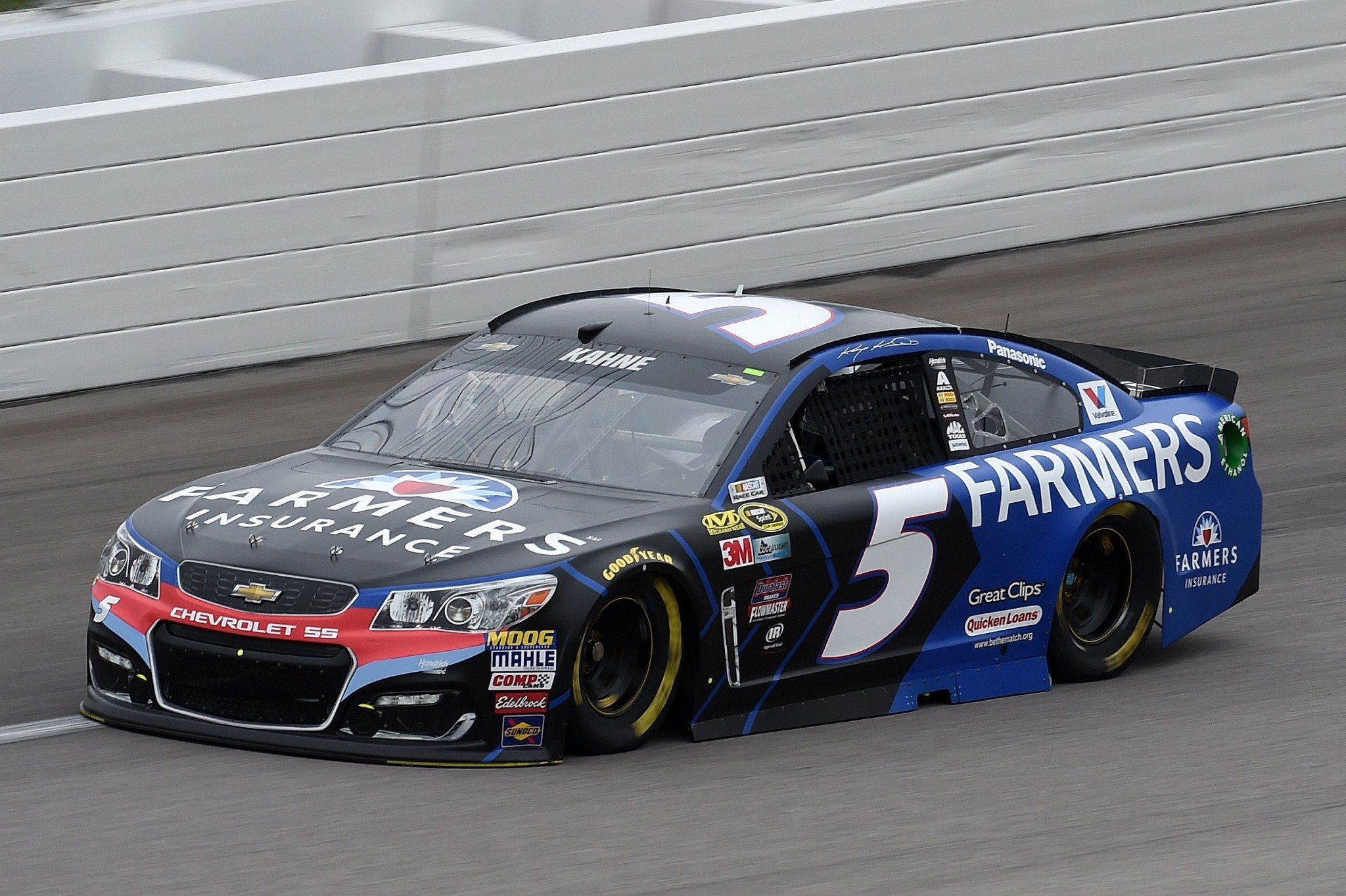 Kasey Kahne is currently 17th in the points standings. (Getty)