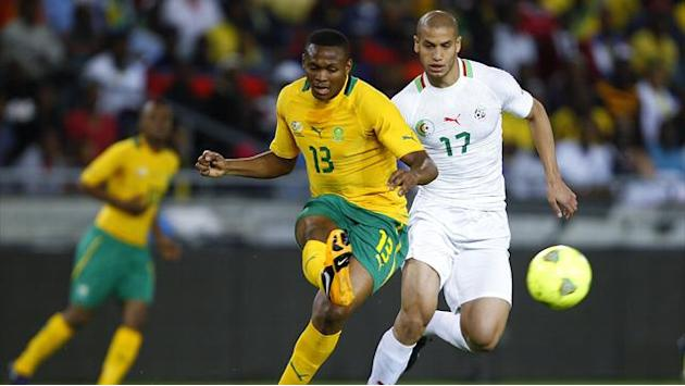African Cup of Nations - Sell-out crowd seek to spur South Africa to success