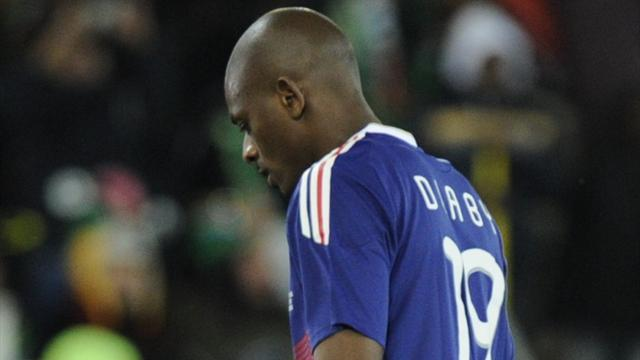 Diaby set to miss Belarus clash