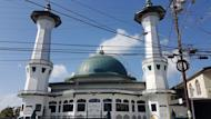 This Feb. 9, 2017 photo, shows the ASJA Jammah Masjid Mosque in Two Princesses Town, Trinidad and Tobago. Security officials and terrorism experts believe that as many as 125 fighters and their relatives have traveled from Trinidad and Tobago to Turkey and on to IS-controlled areas over the last four years, making it the largest per-capita source of IS recruits in the Western Hemisphere.(AP Photo/Ricardo Nunes)