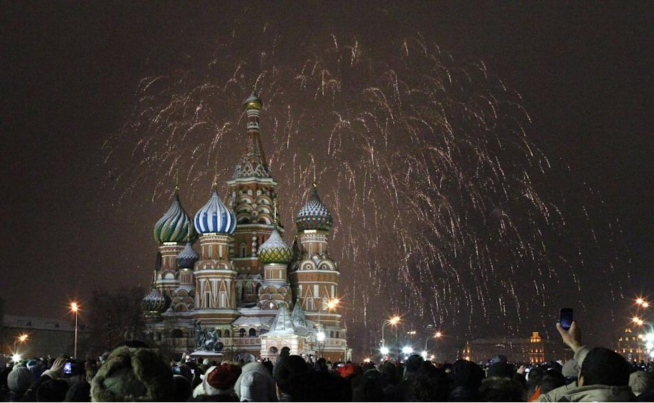 New Year 2013 Moscow