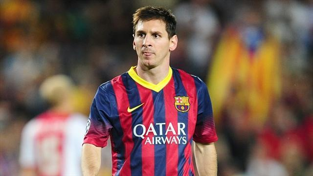 Liga - Messi ready for return to Barca starting line-up