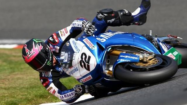Superbikes - Oulton BSB: Lowes 'embarrassed' after crashing on warm-down lap