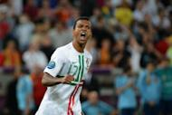 Portuguese midfielder Nani reacts after scoring a penalty during the Euro 2012 football championships semi-final match Portugal vs. Spain at the Donbass Arena in Donetsk. Portugal should be proud of their performance at Euro 2012, even if their campaign ended in Wednesday's crushing defeat in a penalty shootout in the semi-finals to holders Spain, forwards Cristiano Ronaldo and Nani insisted
