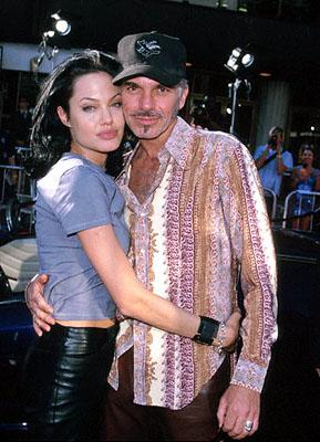 Newlyweds Angelina Jolie and Billy Bob Thornton at the Westwood, CA National Theatre premiere of Touchstone's Gone In 60 Seconds