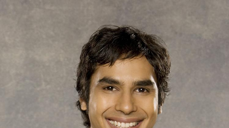 "Kunal Nayyar stars in ""The Big Bang Theory."""