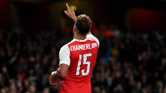 Ox in the box: Arsenal fringe stars continue Gunners cup run