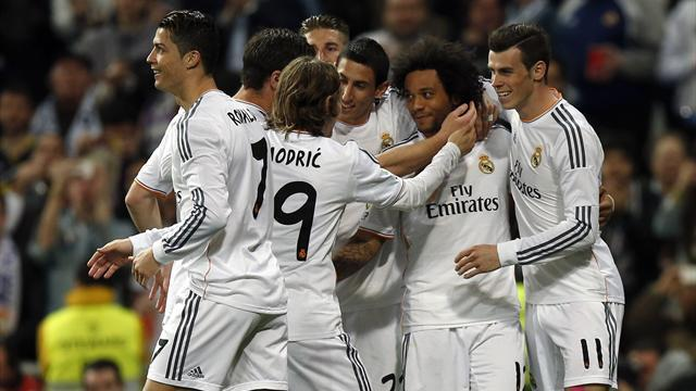 Liga - Madrid move three clear after Levante win