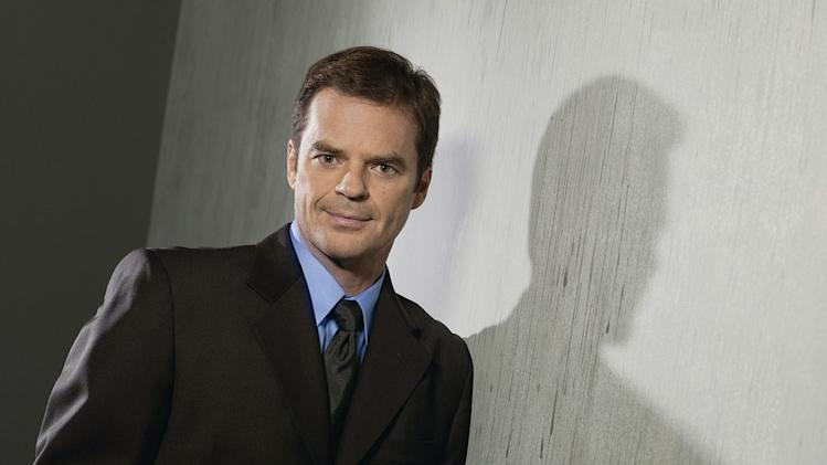 "Wally Kurth stars as Justin Kiriakis on ""Days of Our Lives."""