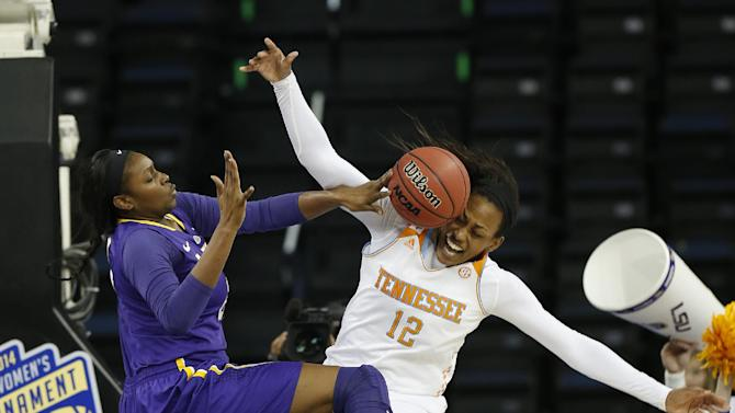 Harrison, Simmons, Graves lead Lady Vols past LSU