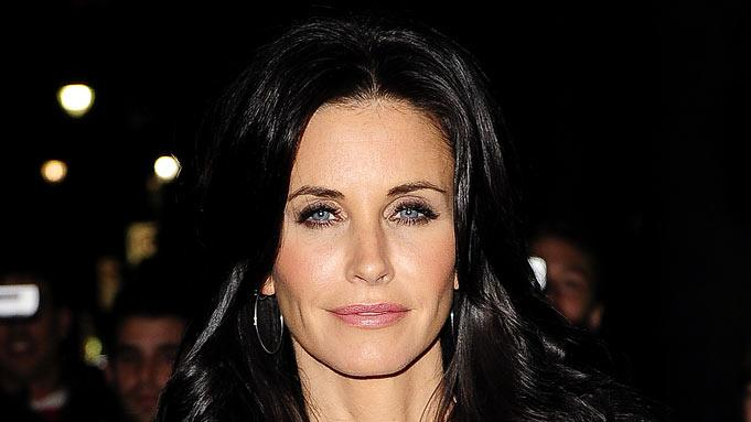 Courteney Cox Arquette enters Cipriani 42nd Street on October 27, 2009 in New York City.